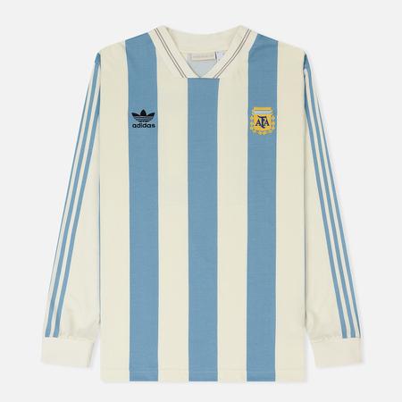 Мужской лонгслив adidas Football Argentina Jersey Echo White/Shade Blue