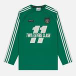 Мужской лонгслив adidas Originals 2 Elevens Shirt Spezial Bold Green фото- 0