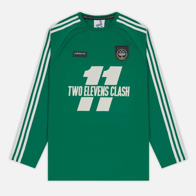 Мужской лонгслив adidas Originals 2 Elevens Shirt Spezial Bold Green