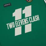 Мужской лонгслив adidas Originals 2 Elevens Shirt Spezial Bold Green фото- 2