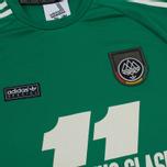 Мужской лонгслив adidas Originals 2 Elevens Shirt Spezial Bold Green фото- 3