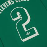 Мужской лонгслив adidas Originals 2 Elevens Shirt Spezial Bold Green фото- 6