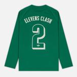 Мужской лонгслив adidas Originals 2 Elevens Shirt Spezial Bold Green фото- 7
