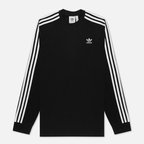 Мужской лонгслив adidas Originals 3-Stripes LS Black