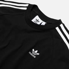 Мужской лонгслив adidas Originals 3-Stripes LS Black фото- 1