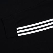 Мужской лонгслив adidas Originals 3-Stripes LS Black фото- 3