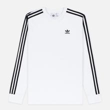 Мужской лонгслив adidas Originals 3-Stripes LS White фото- 0