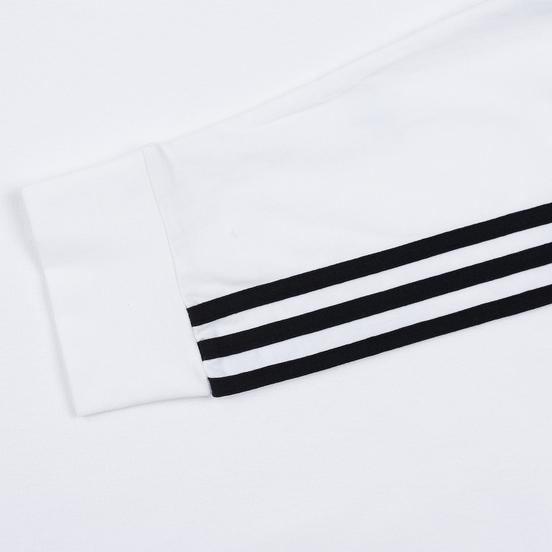 Мужской лонгслив adidas Originals 3-Stripes LS White