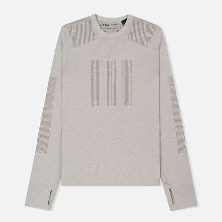 Мужской лонгслив adidas Originals Day One Base Layer Clear Granite