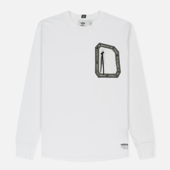 Мужской лонгслив adidas Originals NMD White