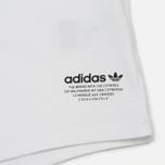 Мужской лонгслив adidas Originals NMD White фото- 3