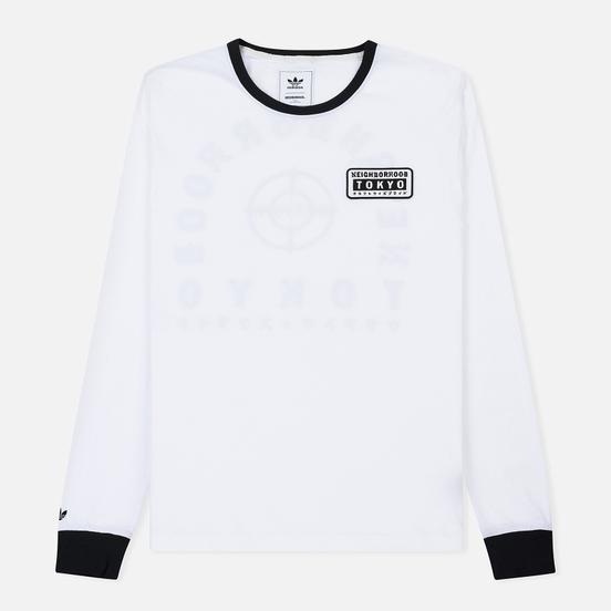Мужской лонгслив adidas Originals x Neighborhood Logo Tokyo White