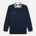 Мужской лонгслив adidas Originals x Spezial LSL Polo Night Navy/Chalk/White фото- 0