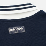 Мужской лонгслив adidas Originals x Spezial LSL Polo Night Navy/Chalk/White фото- 2