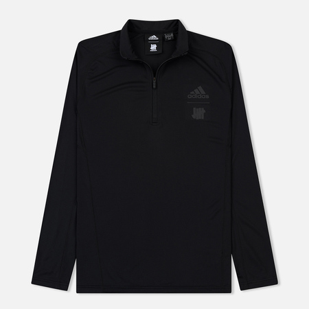 Мужской лонгслив adidas Originals x Undefeated Running Half-Zip Black