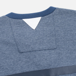 Мужской лонгслив adidas Originals x White Mountaineering Henley Neck Night Navy/Indigo/Marine фото- 4