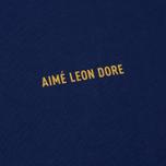 Мужской лонгслив Aime Leon Dore Logo Navy фото- 3