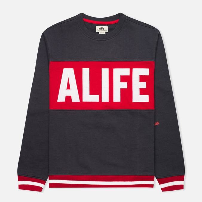 Мужской лонгслив Alife Pro Team Eclipse Blue