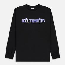 Мужской лонгслив Alltimers Rock Planet Black фото- 0