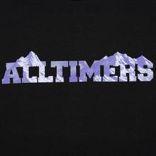 Мужской лонгслив Alltimers Rock Planet Black фото- 2