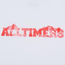Мужской лонгслив Alltimers Rock Planet White фото- 2
