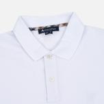 Aquascutum Hilton LS Pique Polo Men's Longsleeve White photo- 1