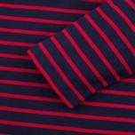 Мужской лонгслив Armor-Lux Beg Meil Breton Dark Blue/Dark Red фото- 2