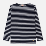 Мужской лонгслив Armor-Lux Fitted Breton Navy Blue/White фото- 0