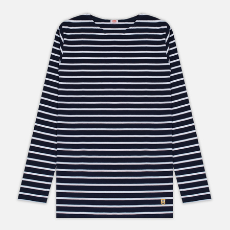 Мужской лонгслив Armor-Lux Fitted Breton Navy/White