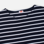 Мужской лонгслив Armor-Lux Fitted Breton Navy/White фото- 1