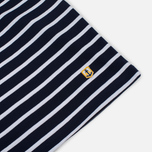 Мужской лонгслив Armor-Lux Fitted Breton Navy/White фото- 3