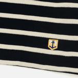 Мужской лонгслив Armor-Lux Mariniere Heritage Pique Stripe Rich Navy/Natural фото- 3