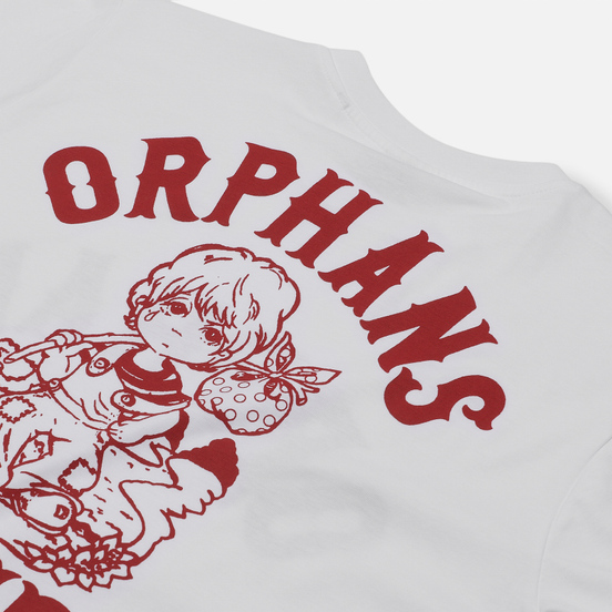 Мужской лонгслив ASSID Orphans White