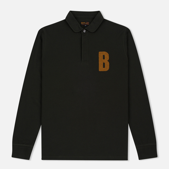 Мужской лонгслив Barbour B Long Sleeved Polo Forest