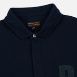 Мужской лонгслив Barbour B Long Sleeved Polo Navy фото- 1