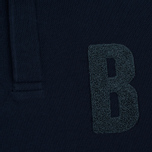 Мужской лонгслив Barbour B Long Sleeved Polo Navy фото- 2