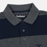 Мужской лонгслив Barbour Stripe Sports Grey фото- 1
