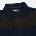 Мужской лонгслив Barbour Stripe Sports Navy фото- 1
