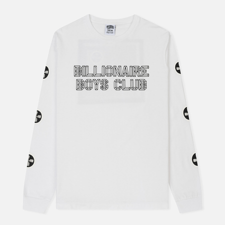 Мужской лонгслив Billionaire Boys Club A/V L/S White