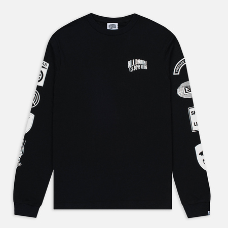Мужской лонгслив Billionaire Boys Club Aviation Print LS Black
