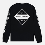 Мужской лонгслив Billionaire Boys Club Aviation Print LS Black фото- 4