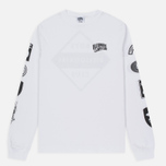 Мужской лонгслив Billionaire Boys Club Aviation Print LS White фото- 0