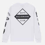 Мужской лонгслив Billionaire Boys Club Aviation Print LS White фото- 4