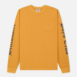 Мужской лонгслив Billionaire Boys Club College Pocket Yellow фото- 0