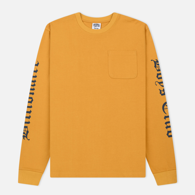 Мужской лонгслив Billionaire Boys Club College Pocket Yellow