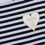 Мужской лонгслив Billionaire Boys Club Damage Stripe LS White/Navy фото- 2