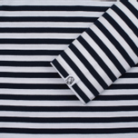 Мужской лонгслив Billionaire Boys Club Damage Stripe LS White/Navy фото- 3