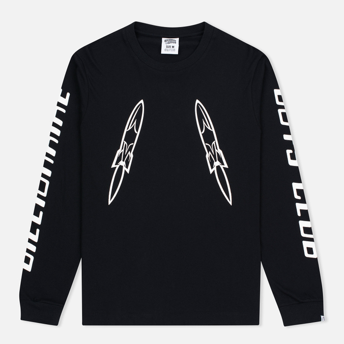 Мужской лонгслив Billionaire Boys Club Digital LS Black/White