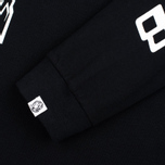 Мужской лонгслив Billionaire Boys Club Digital LS Black/White фото- 2