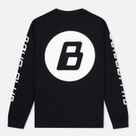 Мужской лонгслив Billionaire Boys Club Digital LS Black/White фото- 3